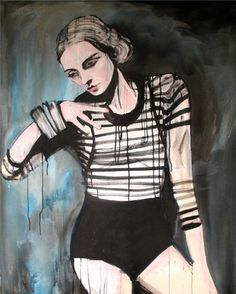 "Saatchi Art Artist Patrick Morgan; Painting, ""Ballet Russe"" #art"