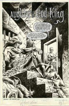Gil Kane, Savage Sword of Conan #85 Comic Art