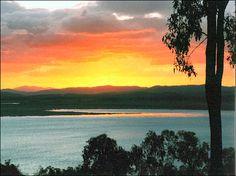 Sunset at Lake Awoonga.