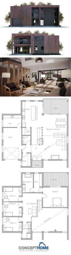 Plan de Casa Moderna More