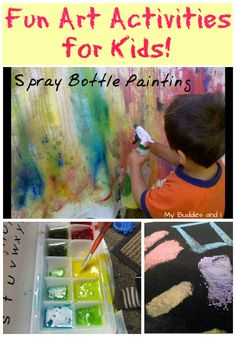 Fun art activities for kids- can't wait to try these!