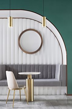 Once a social staple, the clubhouse experiences a revival – but this time, in China - News - Frameweb Commercial Design, Commercial Interiors, Dance Rooms, Estilo Art Deco, Modern Art Deco, Restaurant Interior Design, Luxury Restaurant, In China, Cafe Design