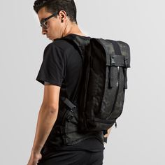 Black Camo Hydration Pack