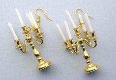 Chandelier Earrings gold Candlestick  Miniblings by miniblings, €14.99