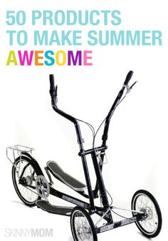 The Elliptical Bicycle - A uniquely designed exercise bike perfect for toning arms, legs and back muscles outside Workouts Outside, Fun Workouts, Outdoor Toys, Indoor Outdoor, Striders, Toned Arms, Low Impact Workout, Cross Trainer, Back Muscles