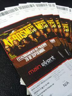 Así son los tickets para el show de Aerosmith de este sábado ¿Ya tienes el tuyo?