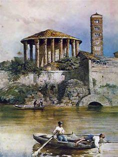Ettore Roesler Franz: La cloaca Massima