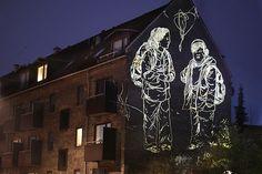 Light Projections Illuminate Copenhagen's Blank Walls - My Modern Metropolis