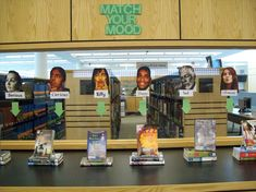 Match Your Mood Book Display