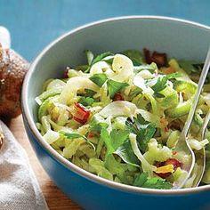 Celery Fennel Salad with Preserved Lemon and Dates Recipe | MyRecipes.com