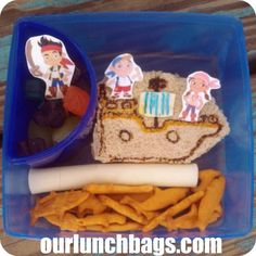 What's In Our Lunch Bags?: Jake and the Neverland Pirates