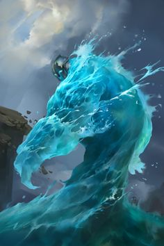 水元素 by LiQian
