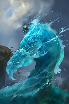 water elemental                                                                                                                                                                                 Mais