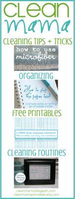 Free Clean Mama Printables
