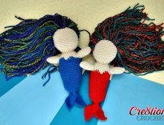Free Mermaid Amigurumi Pattern