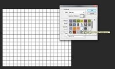 How to Create a Grid Texture/Pattern in Photoshop