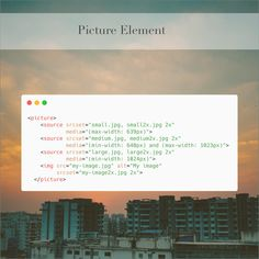 The HTML picture element can come in handy if you want fine grained control over the art direction or to offer different image formats when maybe certain formats are not supported by all browsers #css #webdevelopment #developers#computerscience #webdeveloper#webdev #frontend #programmer#softwaredeveloper #devdiaries#html5