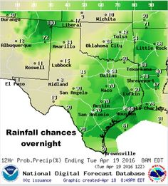 9:30pm Rainfall & Severe Weather Forecast through Wednesday has been published at http://texasstormchasers.com/?p=44313. #txwx