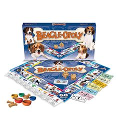 Late of the Sky Beagle-opoly Board Game | Bergner's