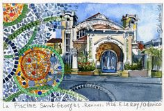 Saint Georges, Taj Mahal, Saints, Travel, Painting, Art, Rennes, Art Background, Viajes