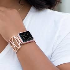 Image result for apple rose gold watch band