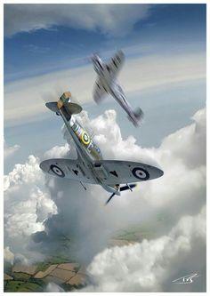 SPITFIRE vs Bf 109