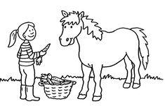 pferde: zwei pferde zum ausmalen zum ausmalen mit bildern   ausmalbilder pferde, malvorlagen