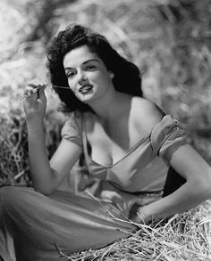 Jane Russell by George Hurrell for The Outlaw, 1941.