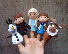 Bevroren vinger marionetten