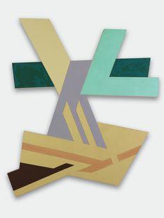 Lanckorona II   Frank Stella, Lanckorona II (1971)