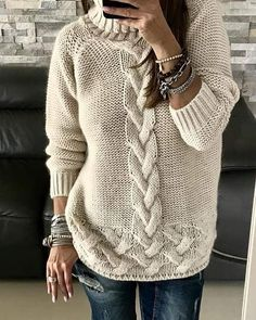 Под заказ в любом цвете. Вязание на заказ! Доставка по всему миру🌐🌍🌏🌎👉👉✉✉ viber/ WhatsApp Messenger +380977807514Татьяна Handmade Cardigans Beautiful of high quality Shipping worldwide Write us to order at Viber/WhatsApp/Messenger +380977807514 💕 Фото с интернета. #knitteddress #readytowear#knitwear #handmade#dressknitted #вязаноепальто #fashiondress#sweater #dresswool#вязаноеплатье #knittedcoat#fashion #dress#sweaterknitting#kniting #платьевязаное#вязанаямода #longdress… Loose Knit Sweaters, Cool Sweaters, Sweaters For Women, Knitting Sweaters, Knit Fashion, Sweater Fashion, Ladies Cardigan Knitting Patterns, Mode Outfits, Fashion Outfits