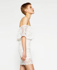 Image 2 of STUDIO GUIPURE DRESS from Zara