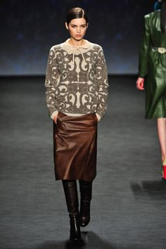 Vivienne Tam Fall 2014 Ready-to-Wear Runway - Vivienne Tam Ready-to-Wear Collection