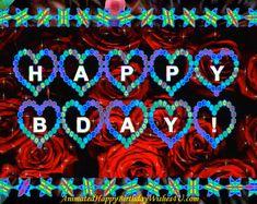 Free birthday videos | Etsy Animated Happy Birthday Wishes, Happy Birthday Wishes Photos, Happy Birthday Video, Cute Happy Birthday, Birthday Pins, Happy Birthday Messages, Free Birthday, Birthday Gifts For Boyfriend, Boyfriend Gifts