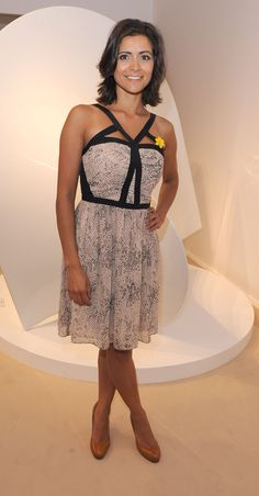 Lucy Verasamy – Masterpiece Summer Party For Marie Curie Itv Weather Girl, Weather Girl Lucy, Juicy Lucy, Tv Girls, Tv Presenters, Itv Weather Presenters, Summer Dresses, Formal Dresses, Peplum Dress