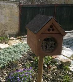 Nasz domek dla murarki ogrodowej