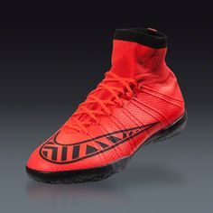 Nike Mercurial Superfly X IC - Bright Crimson Indoor Soccer Shoes  924aa3c3be2b3