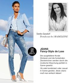 It-Piece der Woche: JEANS - Fancy-Style de Luxe!