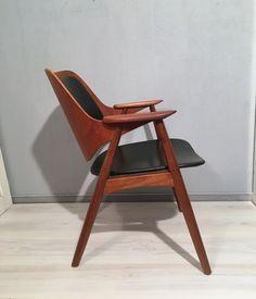 Vintage Stühle - edler skandinavischer Stuhl *Mid Century* Teak - ein Designerstück von Mid-Century-Frankfurt bei DaWanda