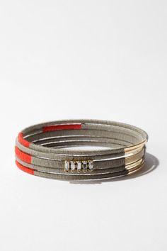 diy...thread wrap bracelets