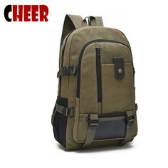 fd4aee8c64e Backpacks canvas High capacity travel bag vintage laptop backpack student  fashion Designer teenage girls school bag backpack new-in Backpacks from  Luggage ...