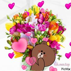 Love You Gif, Cute Love Gif, Hug Gif, Gif Animé, Cute Cartoon Pictures, Cute Love Cartoons, Happy Birthday Messages, Happy Birthday Quotes, Whats Up Gif