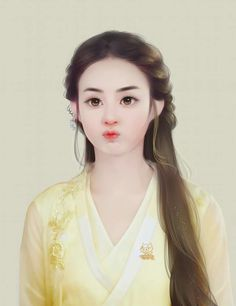 Triệu Lệ Dĩnh vai Sở Kiều Lovely Girl Image, Girls Image, Chinese Painting, Chinese Art, Princess Agents, Zhao Li Ying, Plain Wallpaper, Painting Of Girl, Girl Cartoon