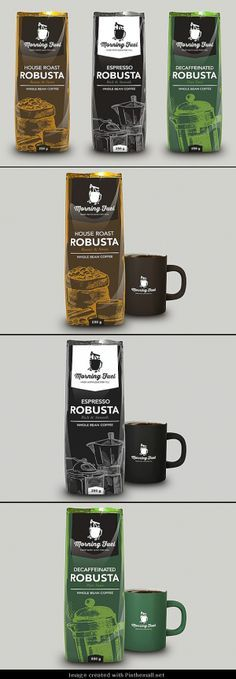 Morning Fuel Coffee (Concept) time for some morning coffee packaging curated by Packaging Diva PD