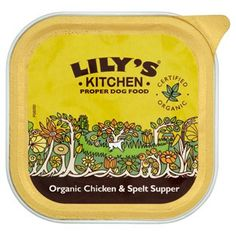 Lily's Kitchen Organic Chicken and Spelt Supper Tray 11 x 150g