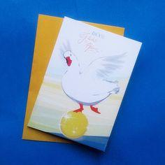 Geburtstagskarten, Grußkarte mit Umschlag, Geburtstagsgrüße, DIN A 6, Karte mit Umschlag, Klappkarte von stuudio auf Etsy