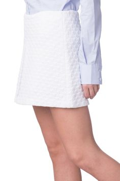48e3db856d RACHEL ZOE Mini Skirt Size 6 / M Houndstooth Quilted Layered Front RRP 199  #fashion #clothing #shoes #accessories #womensclothing #skirts (ebay link)