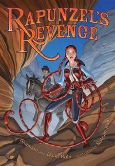 Rapunzel's Revenge by Dean Hale (graphic novel) Book 1