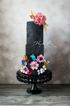 """Lady in Black"" Zuhair Murad Fashion Inspired Cake"