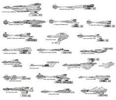 Klingon Imperial Empire Ships